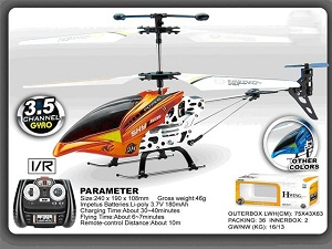 Remote Control 3.5 Channel Helicopter