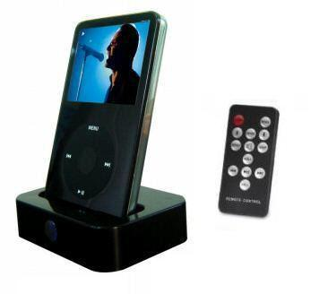 Desktop Charging & Docking Station For iPhone 3Gs with Remote